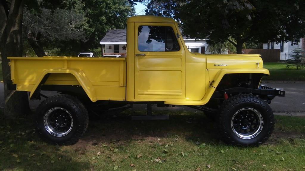1953 jeep willys pickup for sale. Black Bedroom Furniture Sets. Home Design Ideas