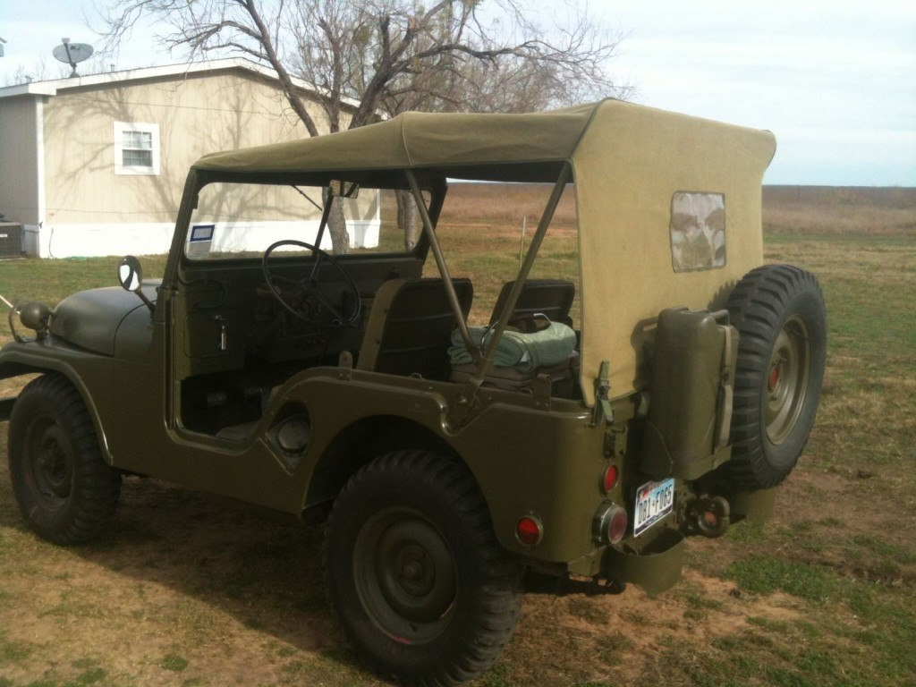 1953 Willys Jeep M38A1