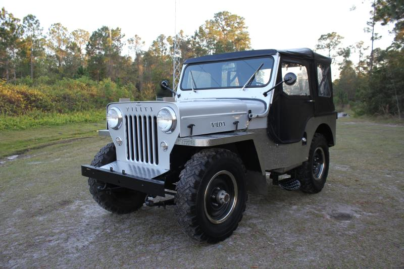 1954 Jeep Other Willys CJ3 High Hood Look