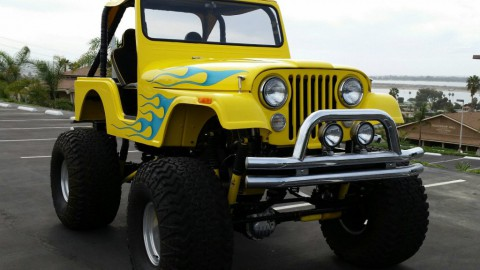 1966 Custom Jeep CJ5 Monster show truck for sale