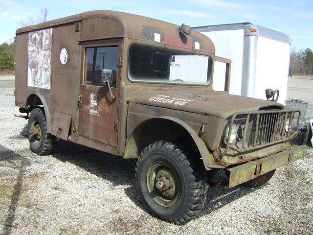 1968 Jeep Kaiser 3520 ambulance 4×4 for sale