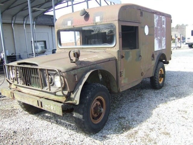 1968 Jeep Kaiser 3520 ambulance 4×4