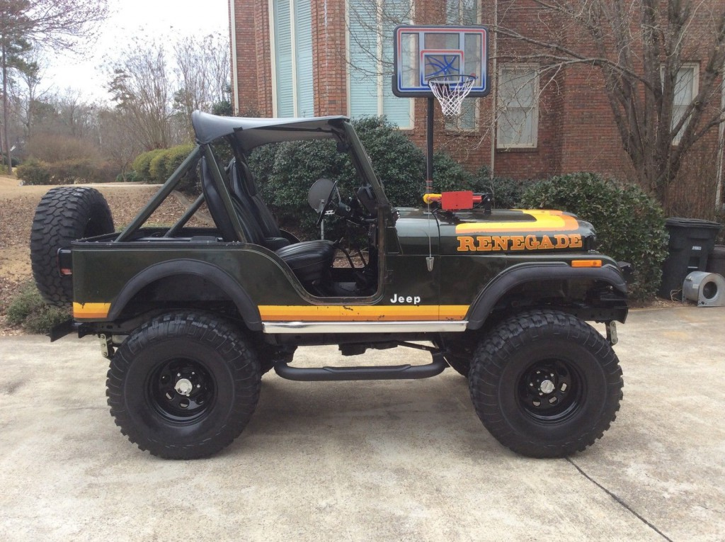 1981 a Jeep CJ-5 Renegade Survivor Original Paint Lifted CJ 4×4