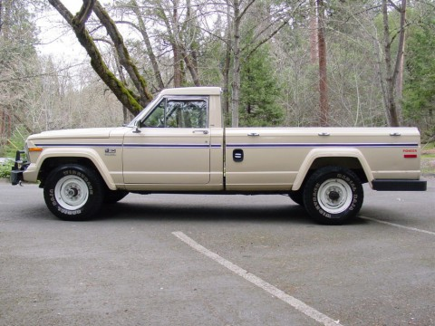 1985 Jeep ONLY 77K Stock J20 4×4 V8360 AUTO Trans&factory AC for sale