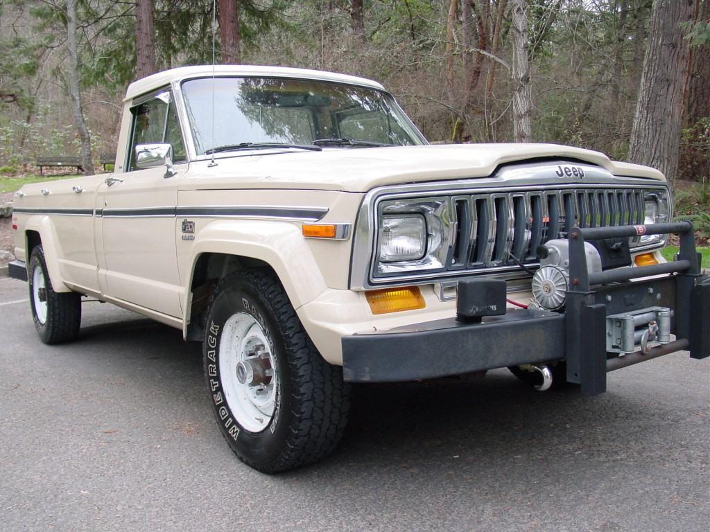 1985 jeep only 77k stock j20 4 4 v8360 auto trans factory. Black Bedroom Furniture Sets. Home Design Ideas