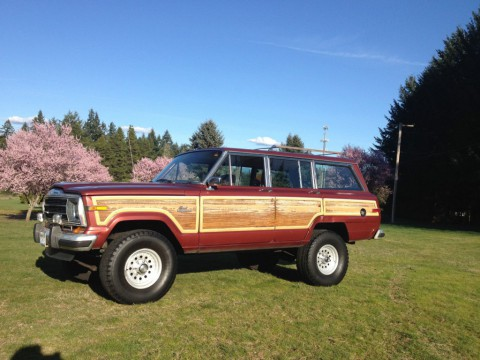 1986 Jeep Grand Wagoneer 4×4 for sale
