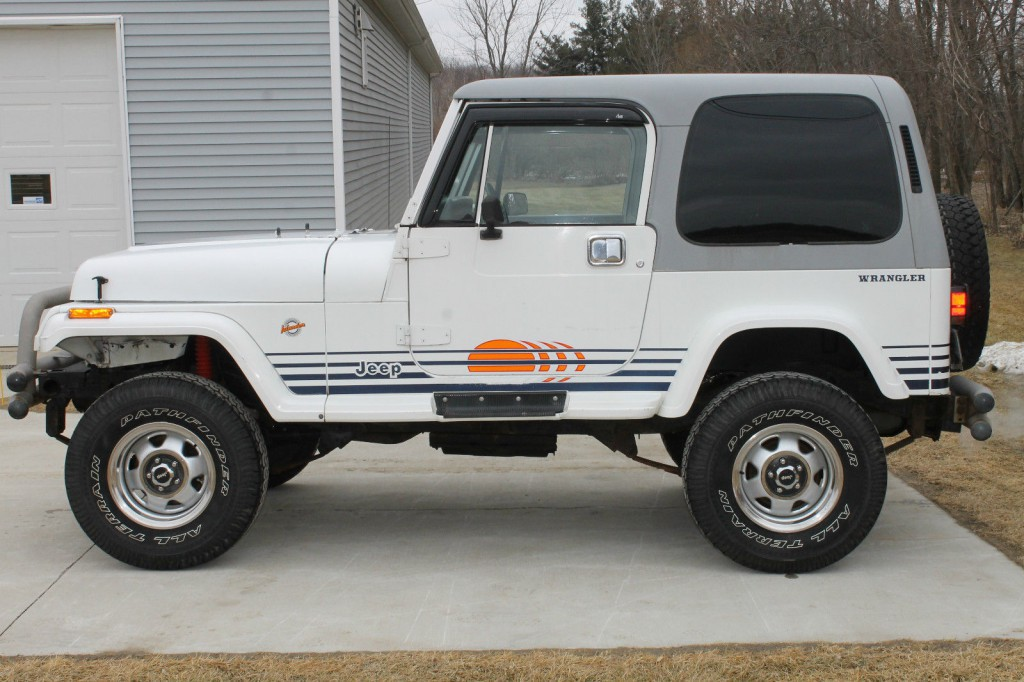 Jeep Wrangler Renegade >> 1989 Jeep Wrangler Islander for sale