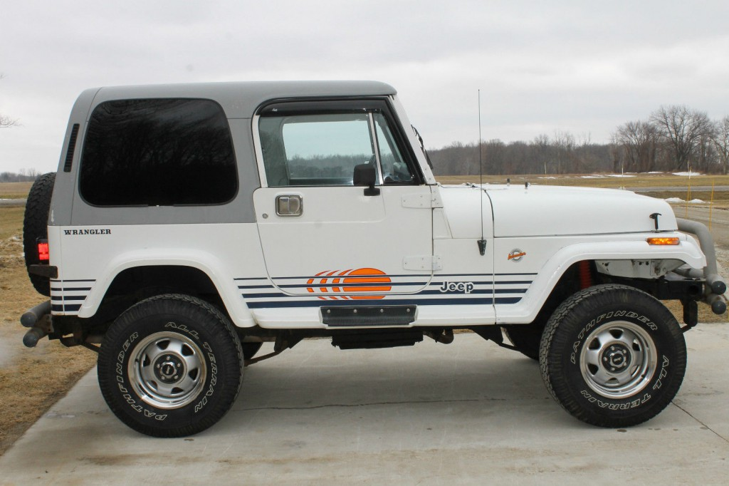 Jeep Wrangler V8 2017 >> 1989 Jeep Wrangler Islander for sale