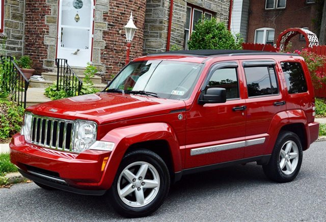 2009 Jeep Liberty Red