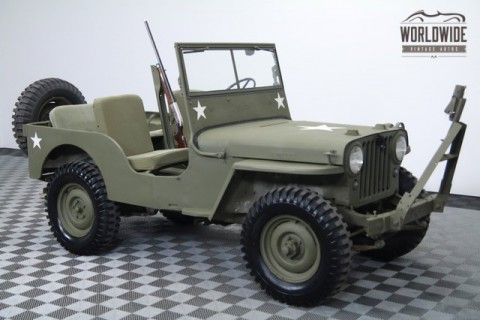 1946 Jeep CJ Rare Options. Excellent Original Condition! for sale