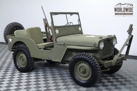 1946 Jeep CJ Rare Options. Excellent Original Condition! for sale