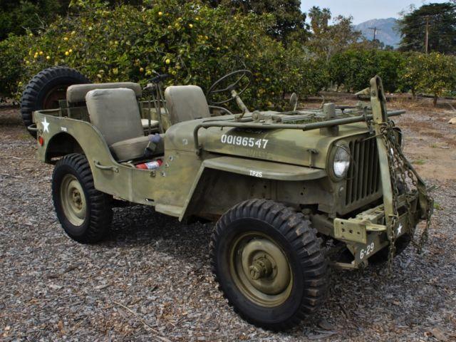 1948 jeep willys cj2a for sale. Black Bedroom Furniture Sets. Home Design Ideas