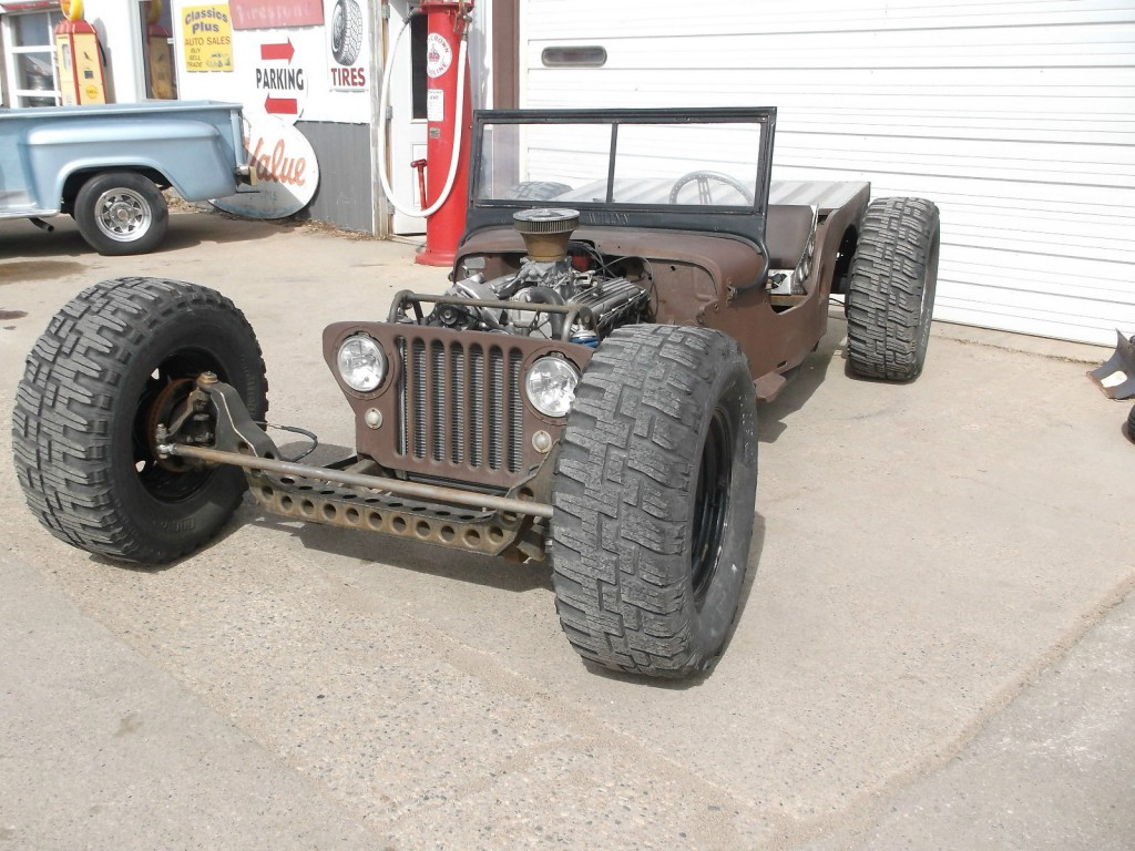 1949 willys jeep ratrod for sale. Black Bedroom Furniture Sets. Home Design Ideas