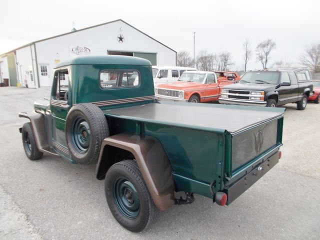 1950 Jeep Willys, 4×4