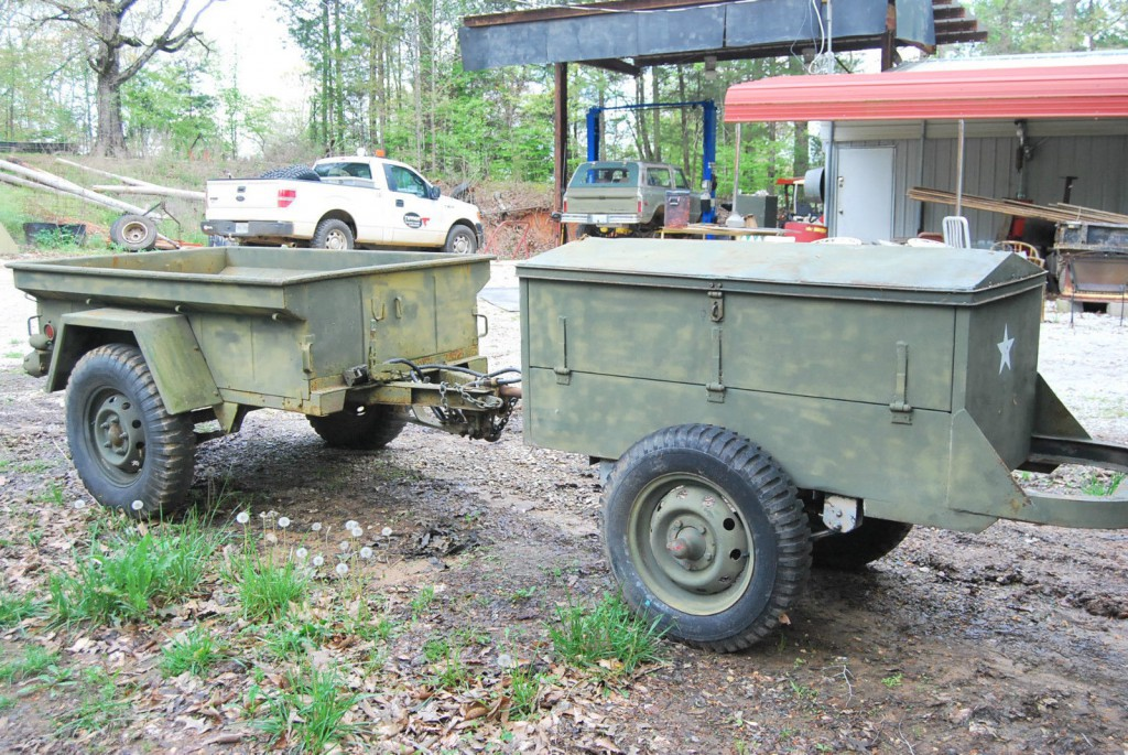 1953 Jeep Willys Military Jeep Wii 2 Trailers For Sale