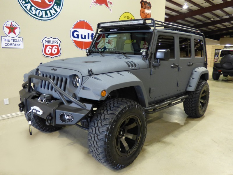 Matte Army Green Jeep Wrangler >> 2015 Jeep Wrangler Custom KEVLAR for sale