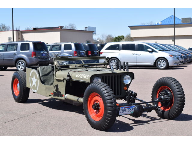 1949 jeep willys mad max style rat rod for sale. Black Bedroom Furniture Sets. Home Design Ideas