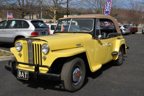 1949 Jeep Wlly's Overland Jeepster for sale