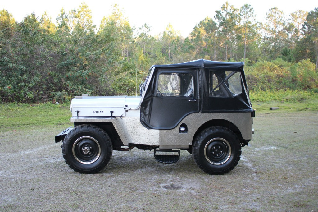 1954 Jeep Willys Cj 3 High Hood 2 2l Cj3 For Sale