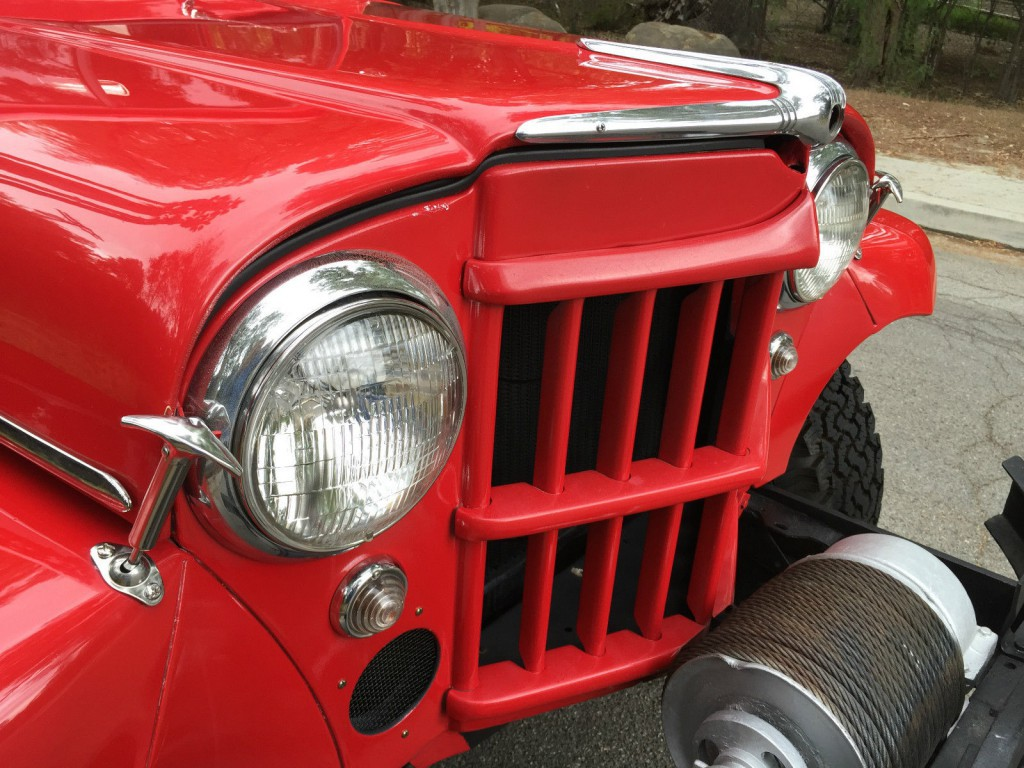 1957 Jeep Willys Pick Up Truck Off Road For Sale