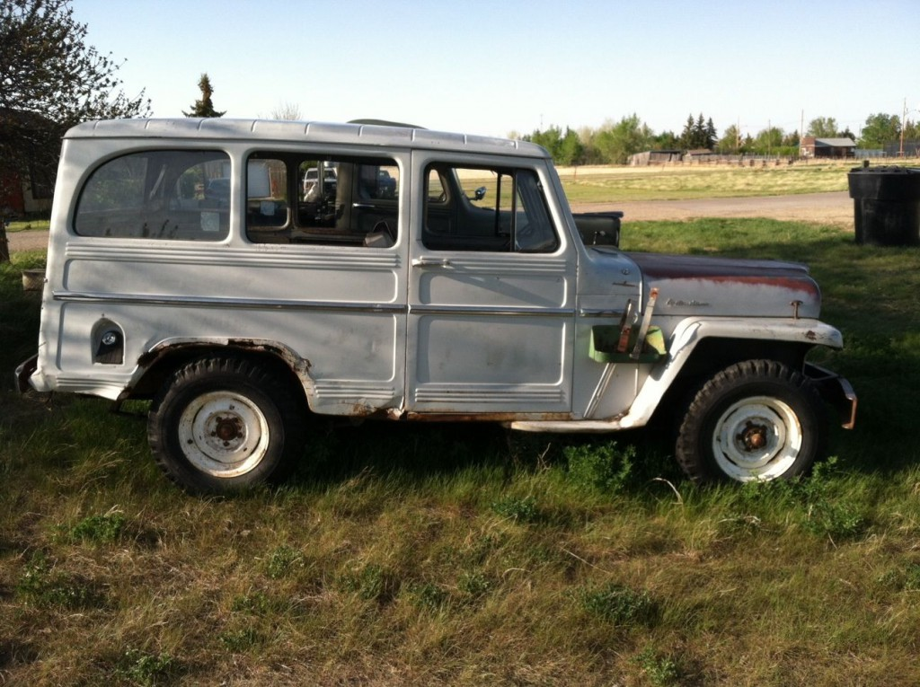 1961 willys jeep panel wagon truck 4 4 for sale. Black Bedroom Furniture Sets. Home Design Ideas