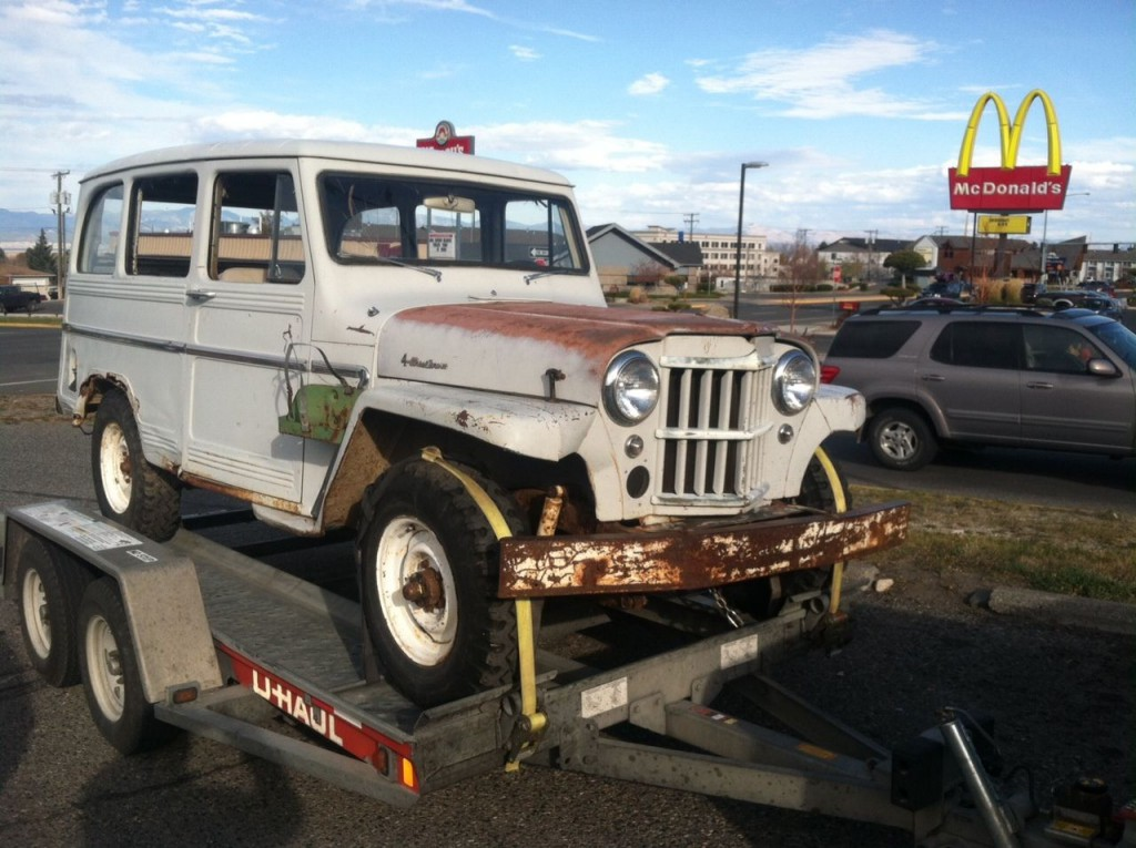 1961 Willys Jeep Panel Wagon Truck 4×4