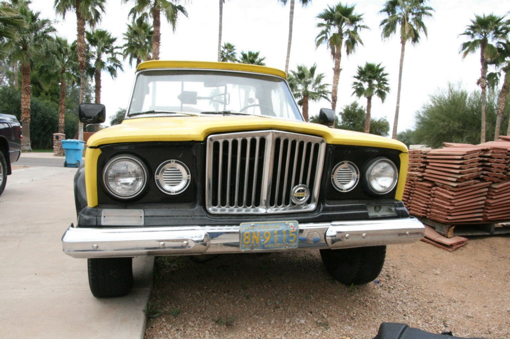 Jurassic Park Jeep For Sale >> 1963 Jeep J-200 4×4, Kaiser, Willys, Pickup, Orig. Miles ...