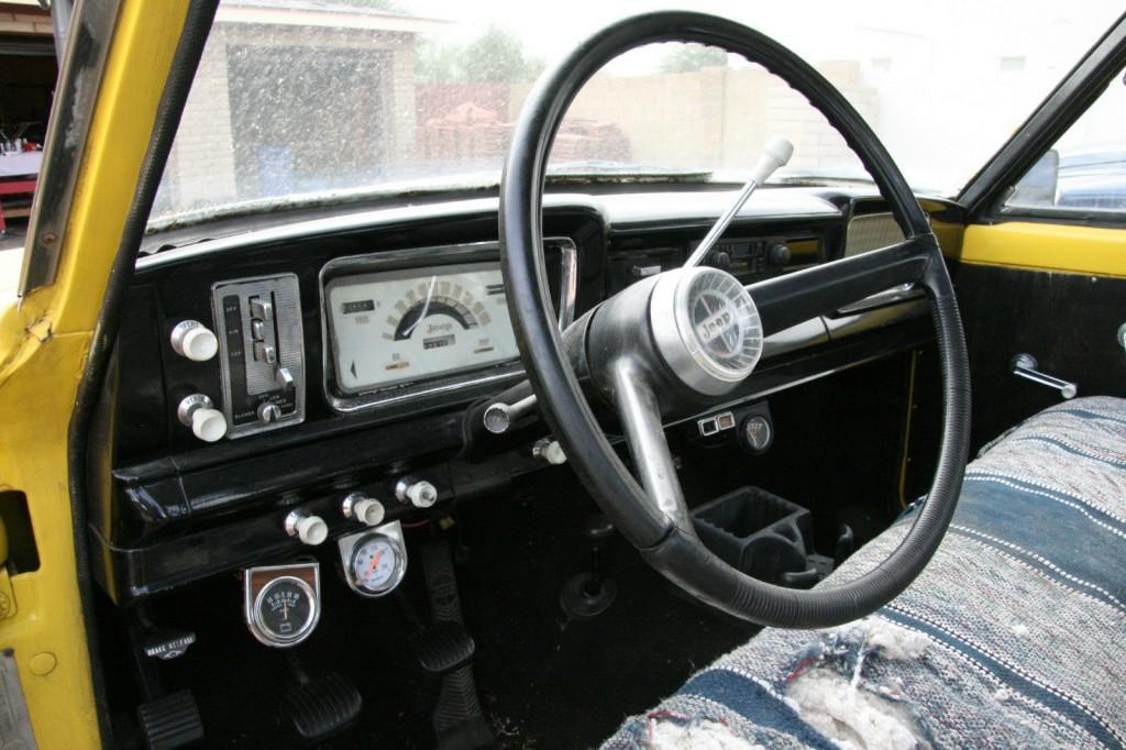 1963 Jeep J-200 4×4, Kaiser, Willys, Pickup, Orig. Miles.