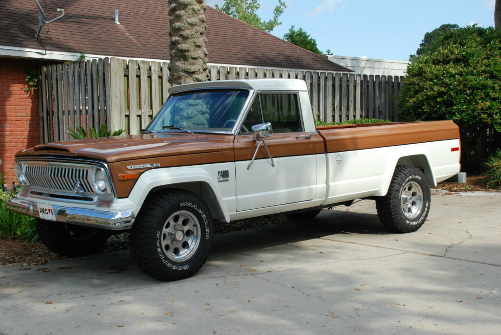 1973 Jeep J 4000 Pickup Truck For Sale