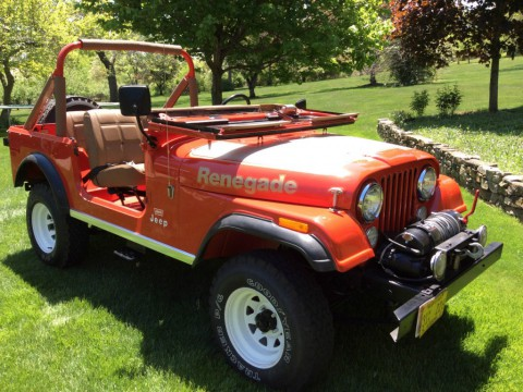 1978 Jeep CJ-7 Jeep Renegade for sale