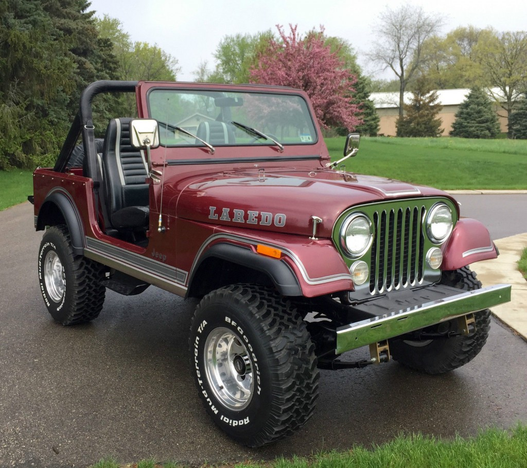 1987 Jeep Wrangler For Sale >> 1981 Jeep CJ for sale