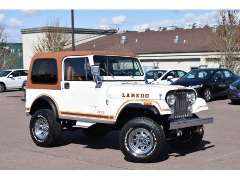 1983 Jeep Laredo CJ7 4×4 for sale