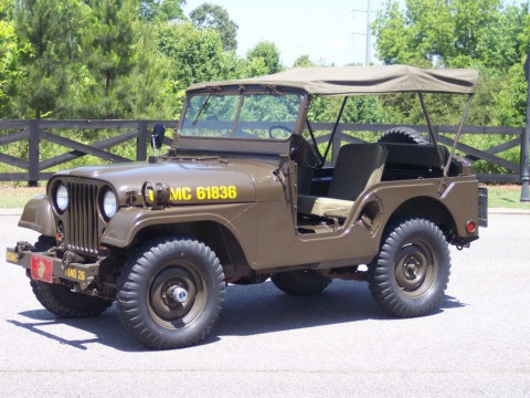 1953 Jeep Willys M38A1 for sale