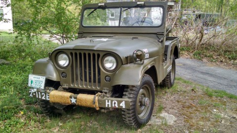 1953 Willys M38A1 Jeep Korean War for sale