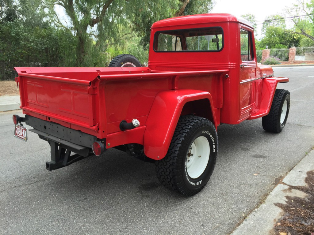 1957 willys pick up truck off road for sale. Black Bedroom Furniture Sets. Home Design Ideas
