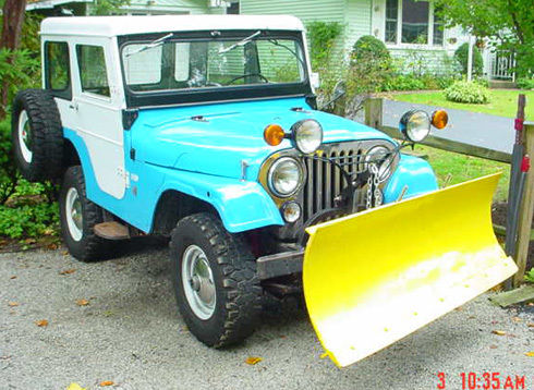 Jeep Renegade Trailhawk For Sale >> 1965 Jeep CJ 5 plow for sale