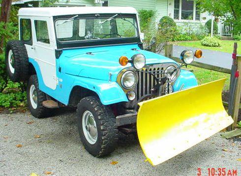 1965 Jeep CJ 5 plow for sale