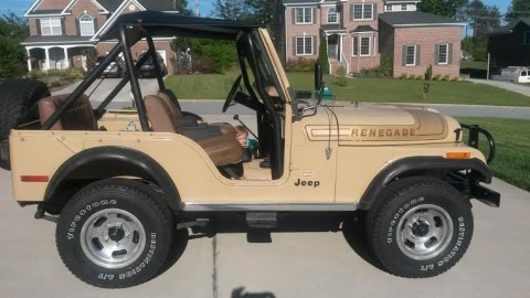 1976 Jeep Renegade CJ-5 Levis Edition for sale