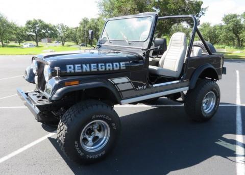 1982 Jeep CJ-7 Renegade for sale