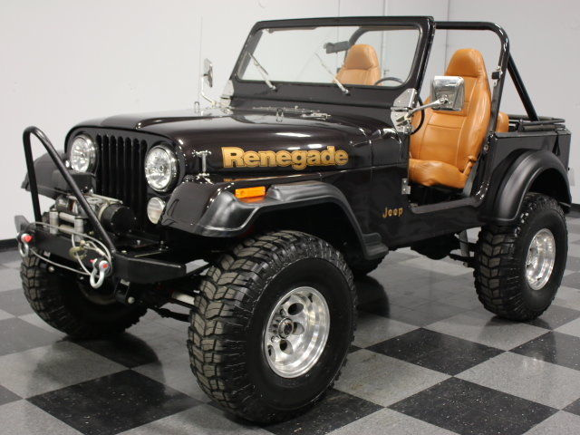 Lifted Jeep Wrangler 2 Door For Sale >> 1984 Jeep CJ 7 Renegade for sale
