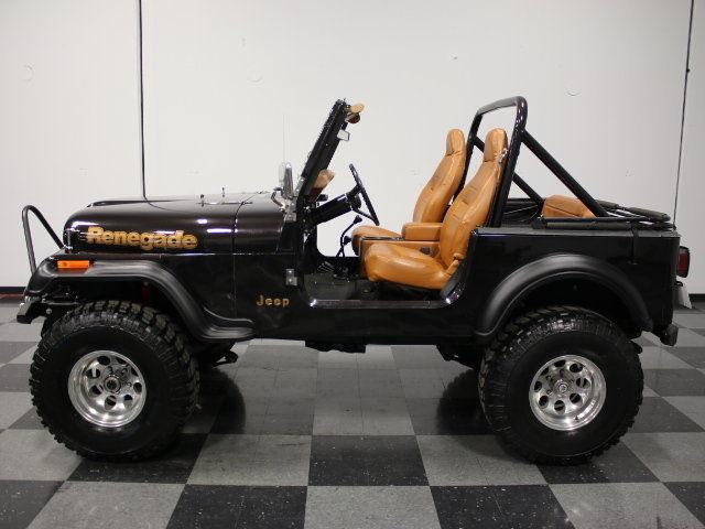 Jeep Renegade Trailhawk For Sale >> 1984 Jeep CJ 7 Renegade for sale