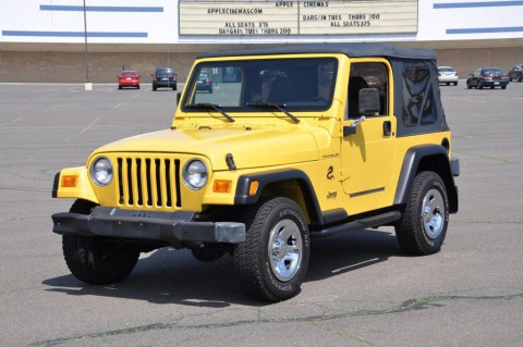 2002 Jeep Wrangler Jeep Wrangler 4×4 Soft Top for sale