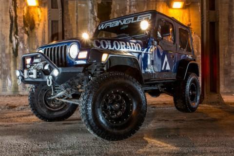 2002 Jeep Wrangler TJ, APEX Edition for sale