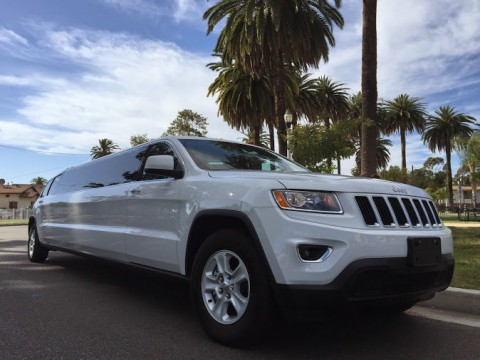 2015 Jeep Grand Cherokee Stretch Limousine for sale