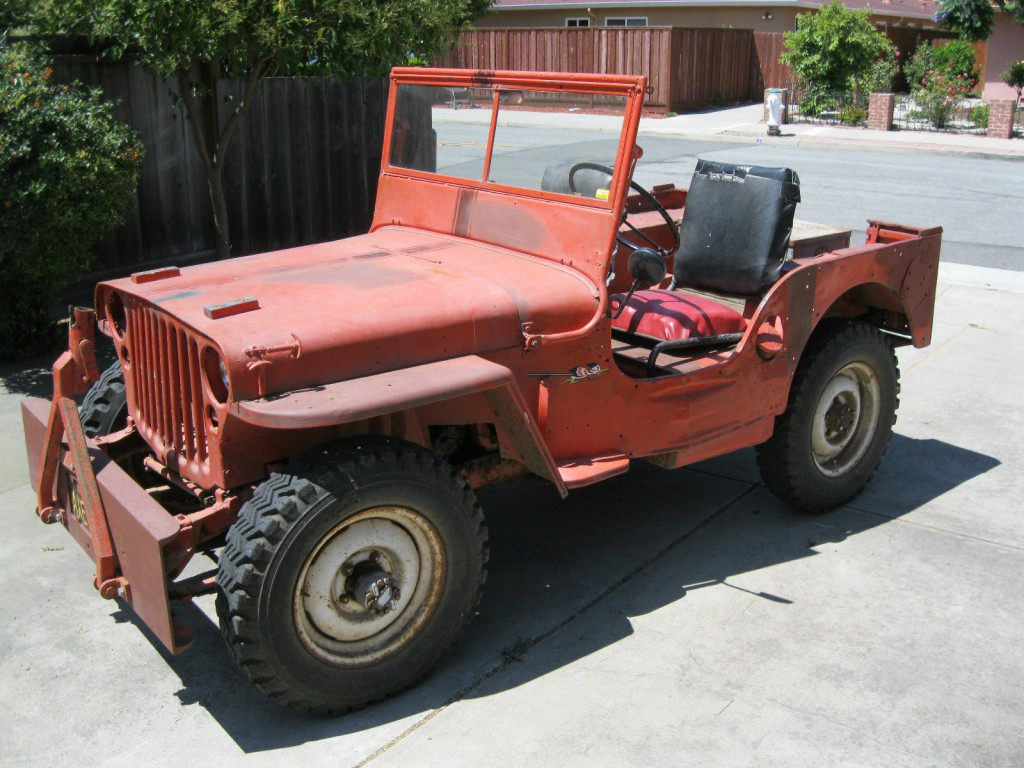 1945 Willys Mb Wwii Military Jeep For Sale