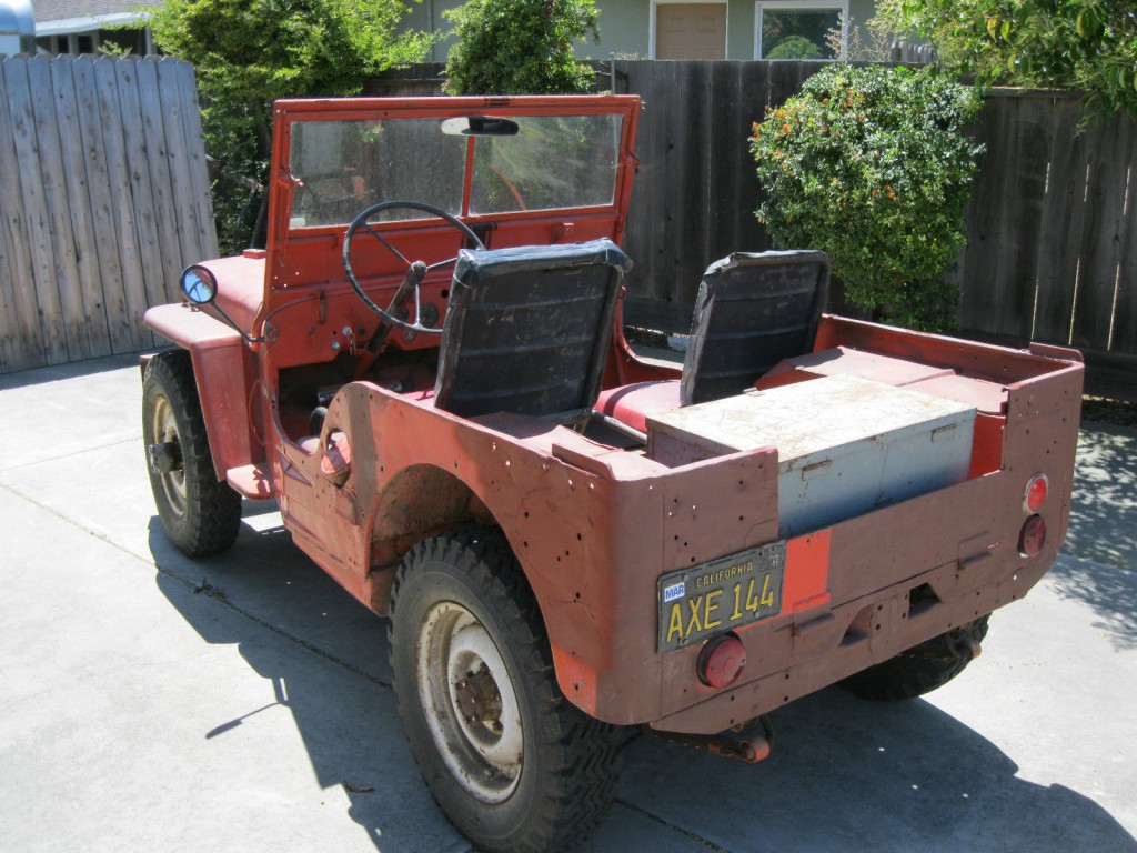 1945 Willys MB – WWII Military Jeep