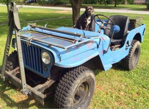 1947 Willys Jeep CJ 2A for sale