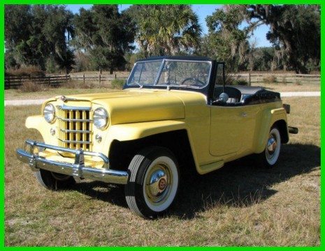 1951 Willys Jeepster Complete Restoration for sale