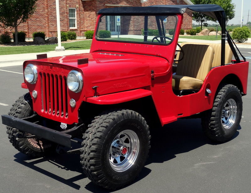 1954 Willys CJ-3B High Hood for sale