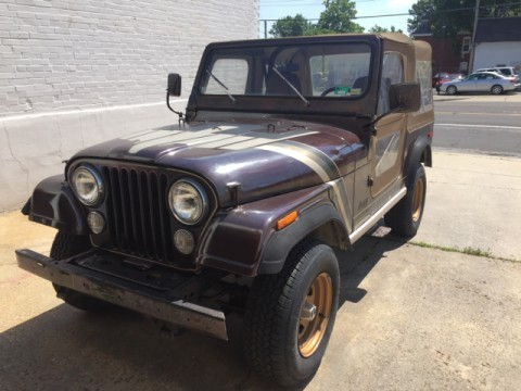 1980 Jeep CJ Golden Hawk 4X4 for sale